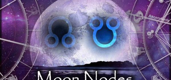 Ay'ın düğümleri İkizler-Yay Ekseninde